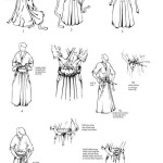 Tying a hakama - method 2